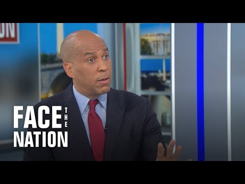 """Booker says he's """"not giving up"""" on police reform after talks collapsed"""