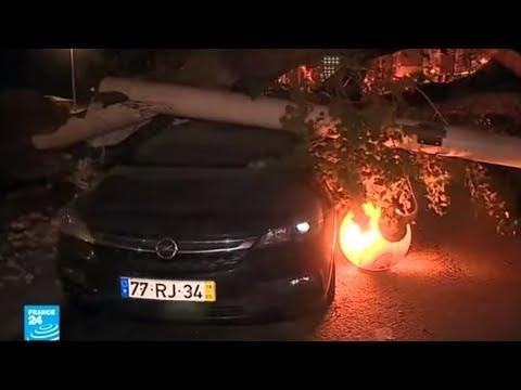 حالة تأهب قصوى في البرتغال بعد وصول إعصار -ليزلي- العنيف  - نشر قبل 37 دقيقة