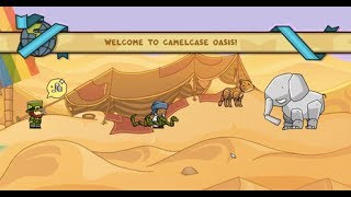 Scribblenauts Unlimited Walkthrough - Camelcase Oasis