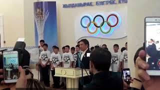 Головкину вручили удостоверение почетного гражданина Карагандинской области