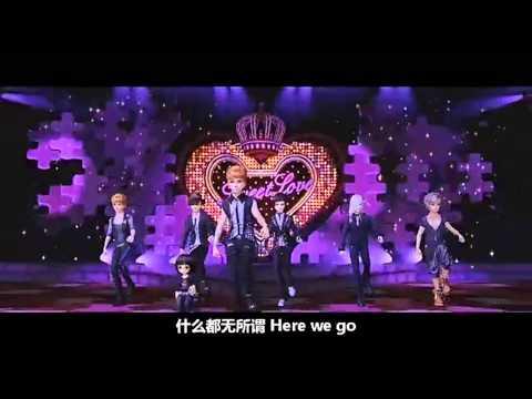 [HD] 2PM QQ Dance 2 - Shining In the Night CG Full MV