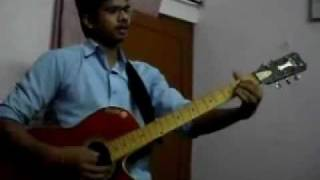 punjabi song dildariyan on guitar...