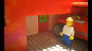 THE SIMPSONS intro lego style