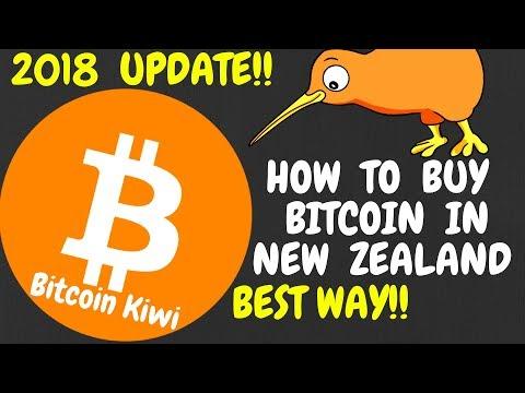 [UPDATE] How to buy Bitcoin in New Zealand(NZ) 2018