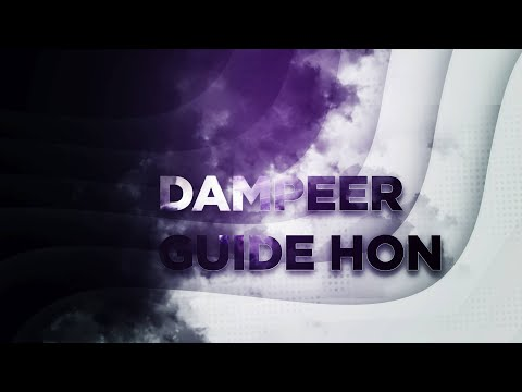 видео: hon - dampeer (Гайд Дампир) от redeyedzaza