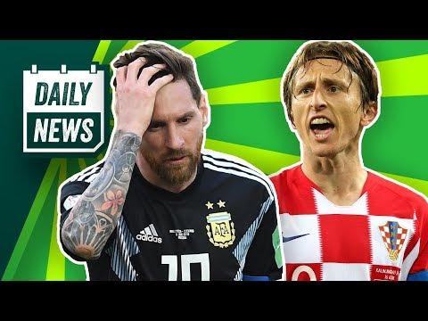 Luka Modric regelt für Kroatien! Twitter zerlegt Messi und Füllkrug nach Gladbach? WM 2018 Update