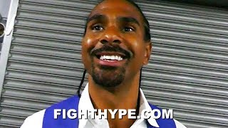 DAVID HAYE DISCUSSES TONY BELLEW FIGHTING USYK AT CRUISERWEIGHT; SAYS BEEF IS SQUASHED