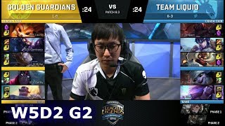 Video Golden Guardians vs Team Liquid | Week 5 Day 2 of S8 NA LCS Spring 2018 | GGS vs TL W5D2 G2 download MP3, 3GP, MP4, WEBM, AVI, FLV Agustus 2018