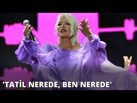 Ajda Pekkan: Tatil nerede, ben nerede