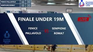 FINALE U19M Fipav Lazio 2021 - Fenice-Roma7 Sempione