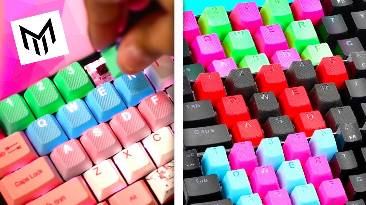 Tai-Hao Rubber Keycaps ALTERNATIVE - Matrix Keyboards Rubber Keycaps Review