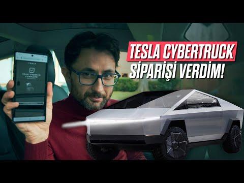 Tesla CyberTruck siparişi verdim! Etkinlik ve Araç Tasarım Analizi