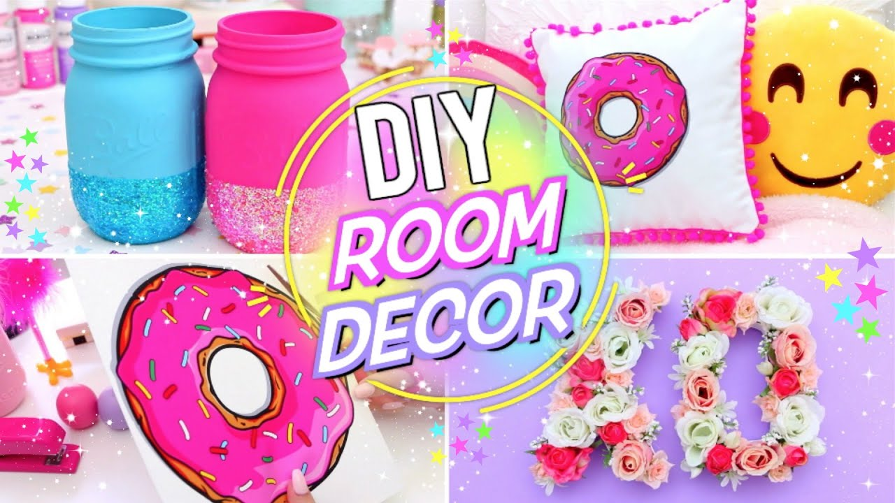 Diy bright fun room decor pinterest room decor for for Room decor ideas step by step