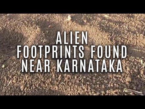 Alien Footprints Found Near Karnataka (हिंदी में )