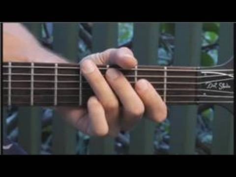 How to Play an Eaug-min7 Guitar Arpeggio : How to Play Guitar Arpeggios 1