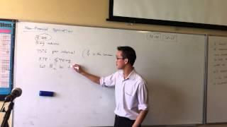 Non-Financial Applications (1 of 2)