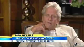Michael Douglas Admits He Had Tongue Cancer, Not Throat Cancer LIED To Protect His Career