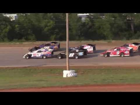 USMTS @ Elk City Speedway  6 23 13 Heat #3