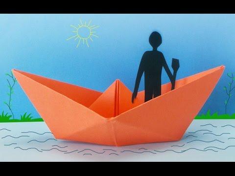 הכנת סירה מנייר