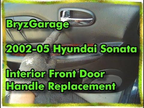 2011 Hyundai Veracruz Driver Side Front Door Inside Han