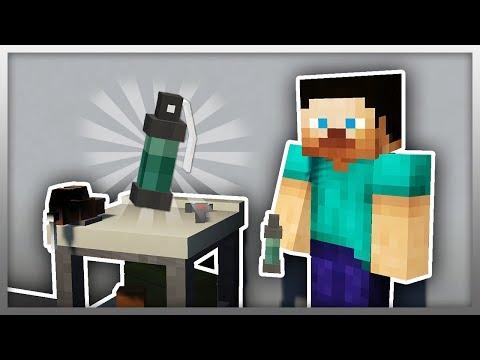 ✔️ NEW Stun Grenade in Minecraft! (MrCrayfish's Gun Mod)