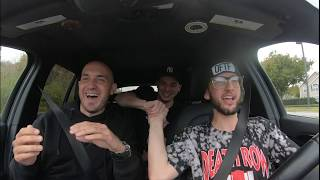 Uber Driver Surprises Riders with Insane Rap!