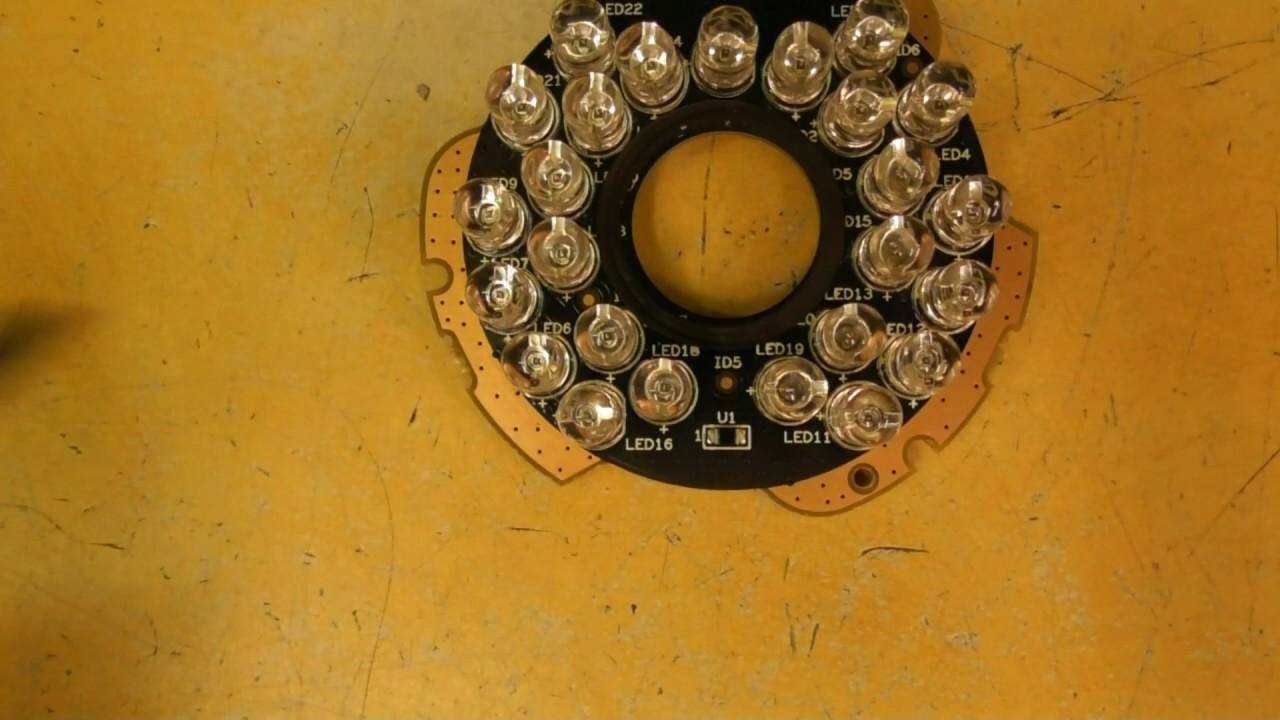Dahua Security Camera- Fix Blinking IR LED's