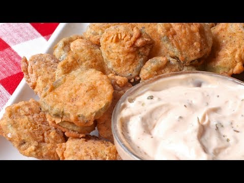 How to make fried pickles recipe