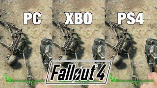 Fallout 4 - PC vs Xbox One vs PS4 - Graphics Comparison / Grafikvergleich