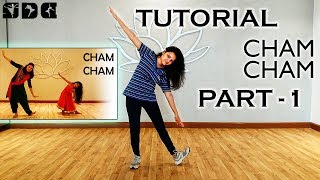 Step by step dance TUTORIAL for CHAM CHAM song | Shipra's dance class
