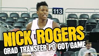 Nick Rogers 5th Year Grad Transfer Full Season Highlights