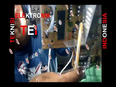 Cara Menganti Mesin TV 21 Slim dengan Mesin WCom bukan Slim