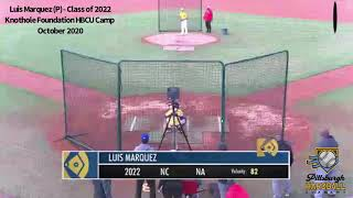 Luis Marquez (RHP) - Class of 2022 - Fall 2020 Highlights
