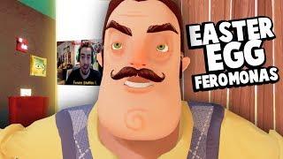 O MEU EASTER EGG EM HELLO NEIGHBOR!!! UM HELLO NEIGHBOR GRÁTIS! | Hello Neighbor Fan Made (GRÁTIS)