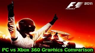 F1 2011 - PC vs Xbox 360 - Graphics Comparison