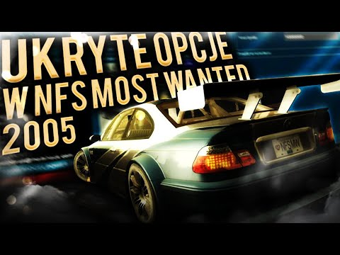 UKRYTE OPCJE W NFS: MOST WANTED 2005 - MW Panel By FormatC