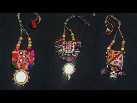 Latest  Handmade Jewellery for Navratri  || New Design || Trending 2017 || GnG