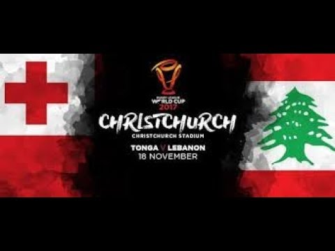Tonga vs Lebanon 24-22 FULL HIGHLIGHTS | Rugby League World Cup 2017|