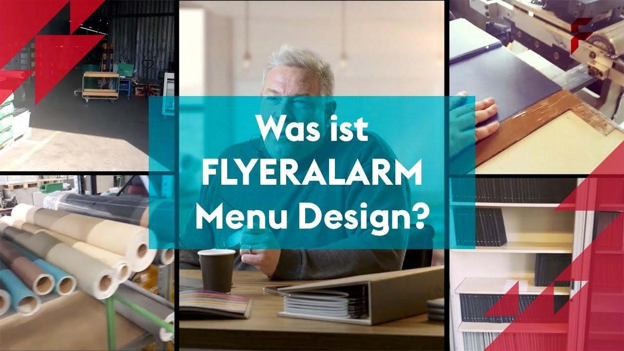 Was Ist Flyeralarm Menu Design