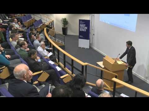 Hugh Pym guest lecture - the 2008 banking crisis.