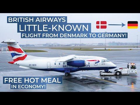 TRIPREPORT | British Airways (ECONOMY) | Dornier 328-300 Jet | Billund - Dusseldorf
