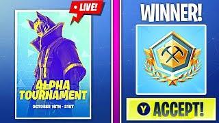 *WINNING* ALPHA TOURNAMENT (PRO PLAYER)! |