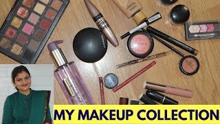 My Minimalist Makeup Collection 2018 | Indian Mom Makeup Routine | Real Homemaking