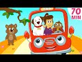 Wheels On The Bus + More Nursery Rhymes & Kids Songs - HooplaKidz