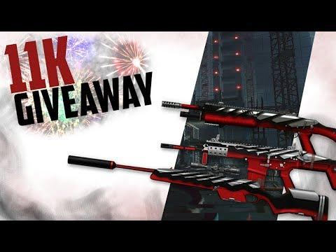 Warface 11k subs giveaway - Black Shark weapon codes thumbnail