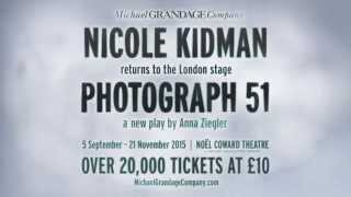 Photograph 51 - Noël Coward Theatre - Teaser Trailer