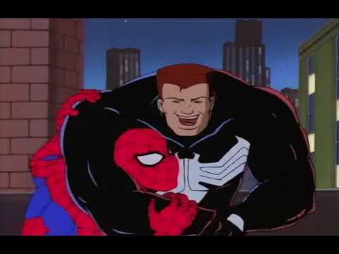 Spider Man The Animated Series Spidey Vs Venom Part 1 Youtube