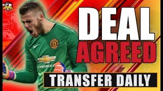 David De Gea signs New £117m Deal  with Manchester United! Man United Transfer News