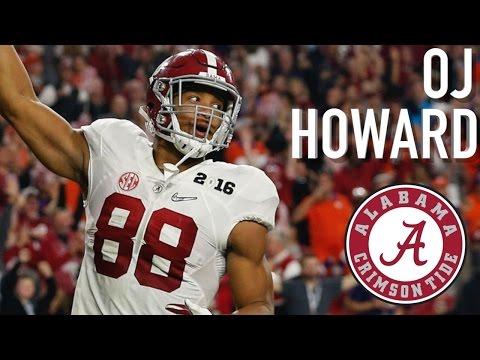 OJ Howard || Official Alabama Highlights