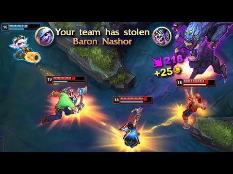 10 Minutes of Unbelievable Steals in League of Legends